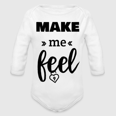 Make me feel! - Baby Bio-Langarm-Body