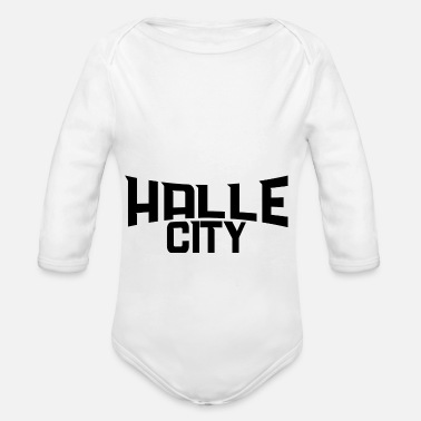 Hall Hall - Organic Long-Sleeved Baby Bodysuit