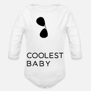 Partnerlook Coolest Baby - Vater und Sohn Partnerlook Shirts - Baby Bio Langarmbody