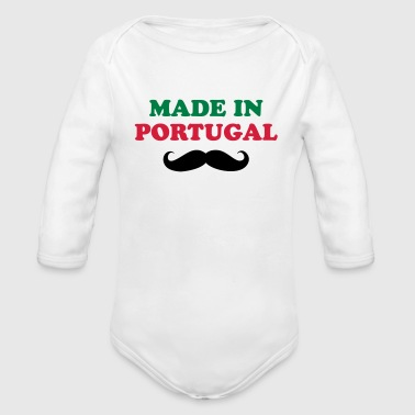 Made in Portugal - Body bébé bio manches longues