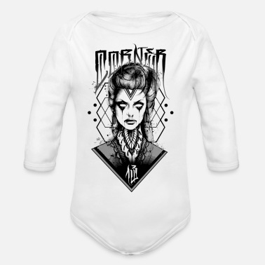Mythical Collection V2 RITUAL GIRL - Organic Long-Sleeved Baby Bodysuit