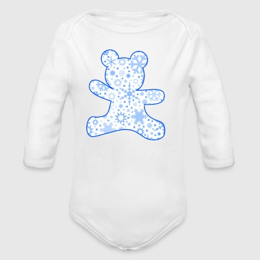 Winterteddy - Baby Bio-Langarm-Body