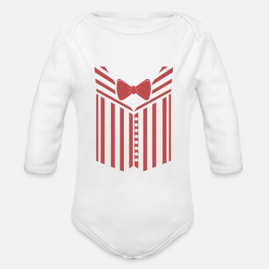 Uniform Barber Quartet uniform - Organic Long-Sleeved Baby Bodysuit