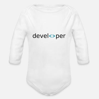 Developer Developer Developer - Organic Long-Sleeved Baby Bodysuit