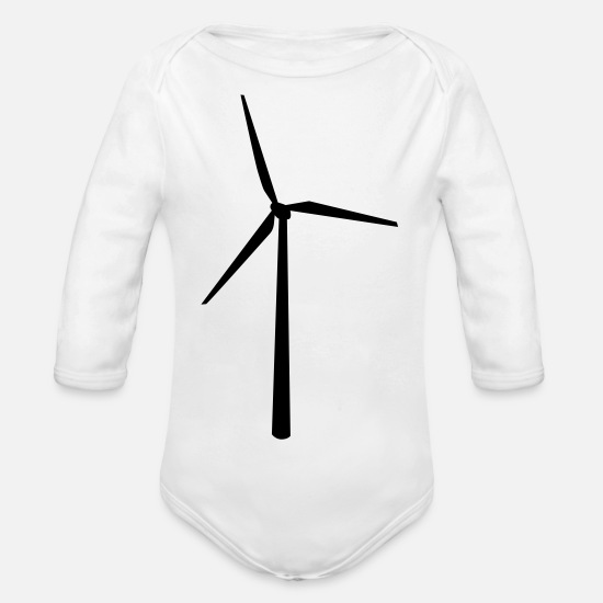 Sustainable Baby Clothes - sustainable - Organic Long-Sleeved Baby Bodysuit white