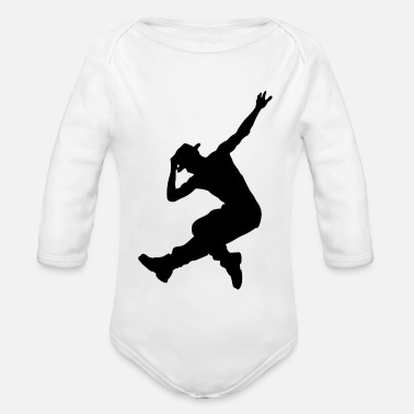 Breakdance Regalo di break dance di street dance hip hop dance - Body a manica lunga per neonati