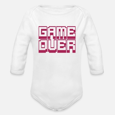 Game Over game over - Body bébé bio manches longues