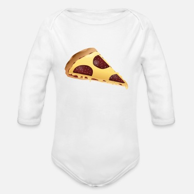 Pizza Pizza just Pizza - Baby Bio Langarmbody