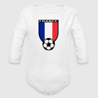 Fan De Foot Maillot de fan de foot France 2016 - Body bébé bio manches longues