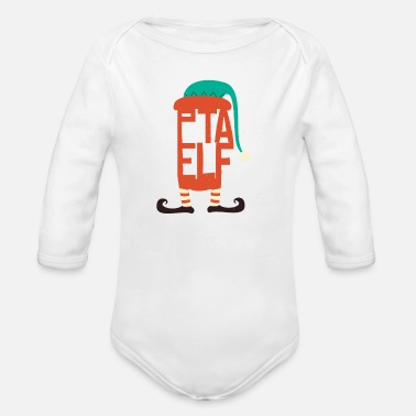 Technical Assistant PTA Elf - Pharmaceutical Technical Assistant - Organic Long-Sleeved Baby Bodysuit