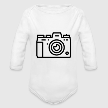 Cámara Digital Camera Photo Cámara digital Camera Gift - Body orgánico de manga larga para bebé