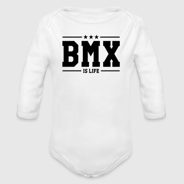 [ BMX is life ] - Body orgánico de manga larga para bebé