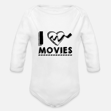 Movie Fans movie fans - Organic Long-Sleeved Baby Bodysuit