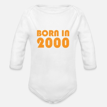 2000 2000 - Organic Long-Sleeved Baby Bodysuit