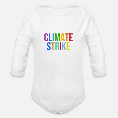 Climate Strike - Fridays For Future - Baby Bio Langarmbody