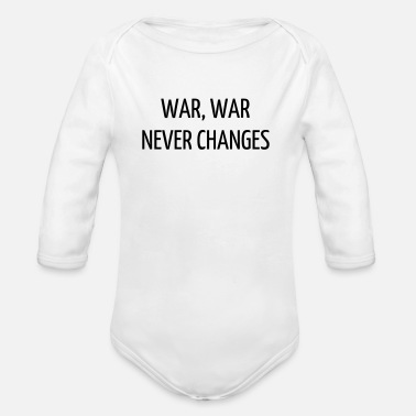 Fallout Quote / Gaming / Geek / Gamer / Computer / Game - Organic Longsleeve Baby Bodysuit