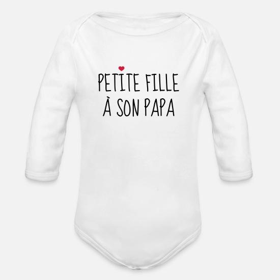 9501d58dcca95 Papa Vêtements Bébé - Petite fille à son Papa - Naissance - Enfant - Body  Bébé