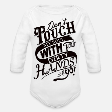 Soul soul - Organic Long-Sleeved Baby Bodysuit
