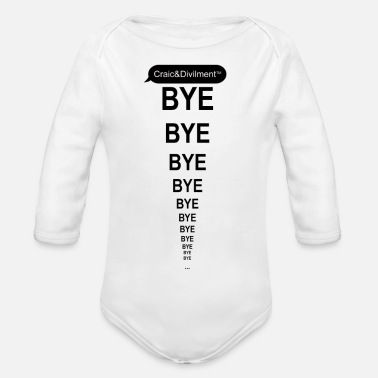 Mammy BYE bye bye ... mobile phone case from C&D - Organic Longsleeve Baby Bodysuit