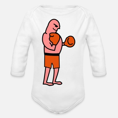 fighter - Baby Bio Langarmbody
