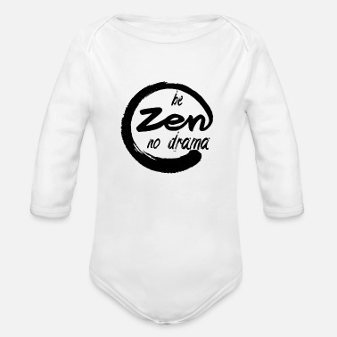 Zen Zen - Organic Long-Sleeved Baby Bodysuit