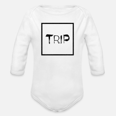 Trip TRIP - Organic Long-Sleeved Baby Bodysuit