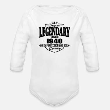Since Legendary since 1940 - Body bébé bio manches longues