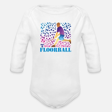 Floorball Floorball - Baby Bio-Langarm-Body