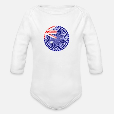 Isa Mount Isa - Organic Long-Sleeved Baby Bodysuit