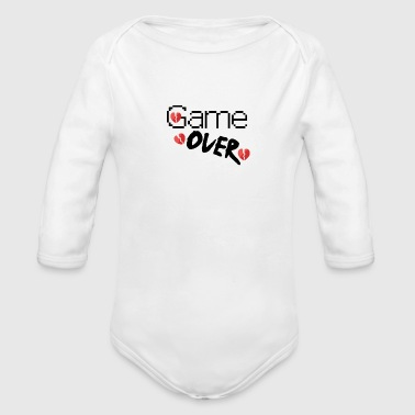 Game over - Baby bio-rompertje met lange mouwen