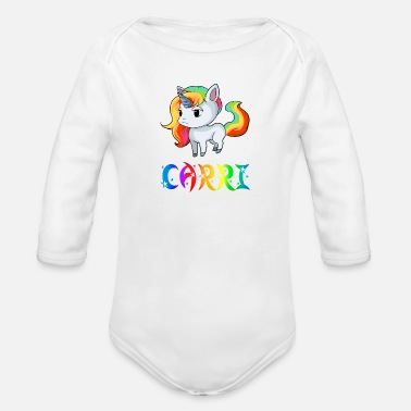 Carry Unicorn Carri - Organic Long-Sleeved Baby Bodysuit