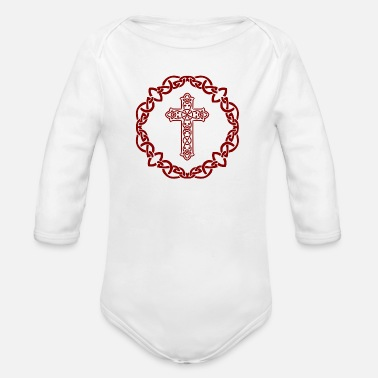 Kreuz Kreuz - Organic Long-Sleeved Baby Bodysuit