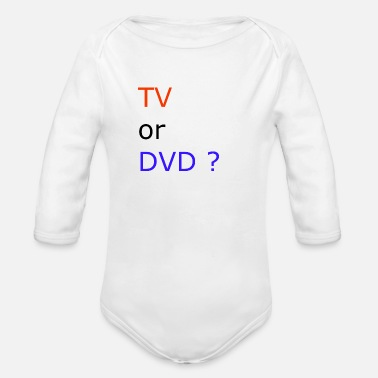 Dvd TV or DVD - Baby Bio Langarmbody