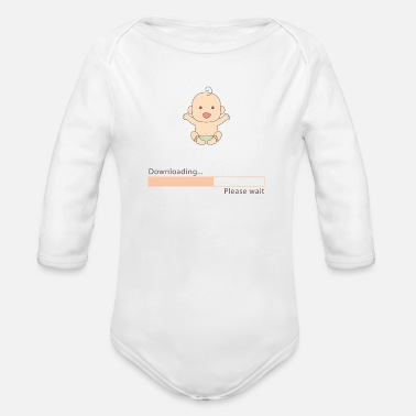Download Baby for download - Organic Longsleeve Baby Bodysuit