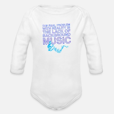 Lacquerer Lacquer Of Background Music Gift Tee Shirt - Organic Long-Sleeved Baby Bodysuit