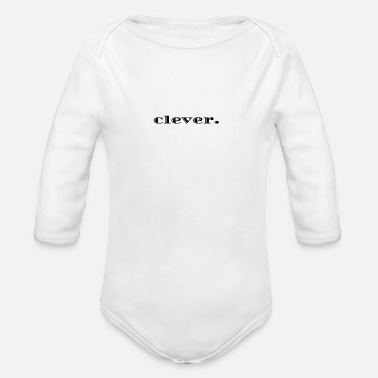 Clever clever. - Baby Bio Langarmbody