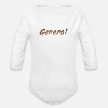 Generation general - Organic Long-Sleeved Baby Bodysuit