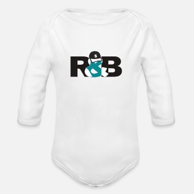 Rnb RnB - Organic Long-Sleeved Baby Bodysuit