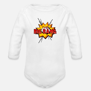 Big Bang The Big Bang - Organic Longsleeve Baby Bodysuit