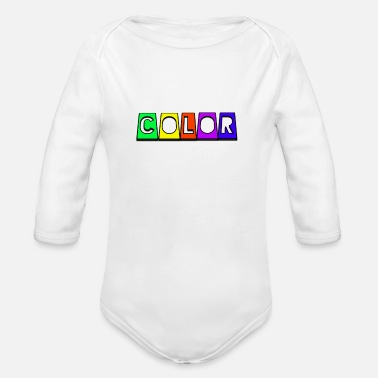 Color Color - Baby Bio Langarmbody