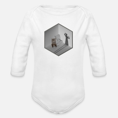 Scene Crime scene - Organic Long-Sleeved Baby Bodysuit
