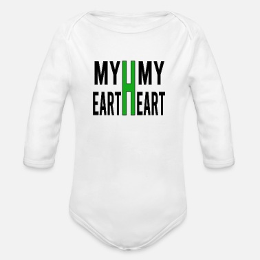 My My earth my heart - Body Bébé bio manches longues