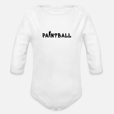 Paintball Paintball 'Paintball Special' - Økologisk langærmet babybody