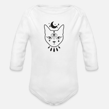 Occult occultism - Organic Long-Sleeved Baby Bodysuit