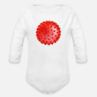 Facemask Ball Facemask - Ball face mask - Organic Long-Sleeved Baby Bodysuit