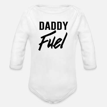 Fuel Daddy Fuel - Organic Long-Sleeved Baby Bodysuit