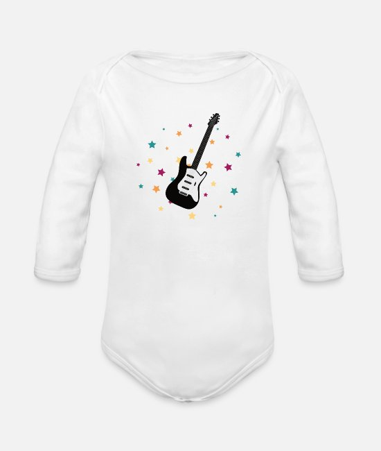 Tent Baby Bodysuits - Lets go Camping - Organic Long-Sleeved Baby Bodysuit white