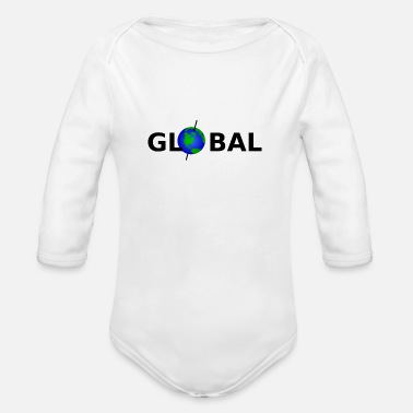 Global Global - Organic Long-Sleeved Baby Bodysuit