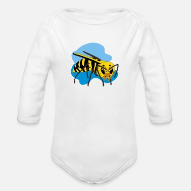 Hornet hornet - Organic Long-Sleeved Baby Bodysuit