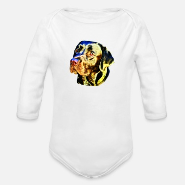 Kalle Kalle the Labrador - Organic Long-Sleeved Baby Bodysuit